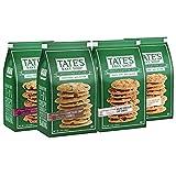 Tate's Bake Shop Cookies Variety Pack, Oatmeal Raisin, White Chocolate Macadamia Nut & Chocolate Chip Walnut Cookies, 7 Oz, Pack of 4