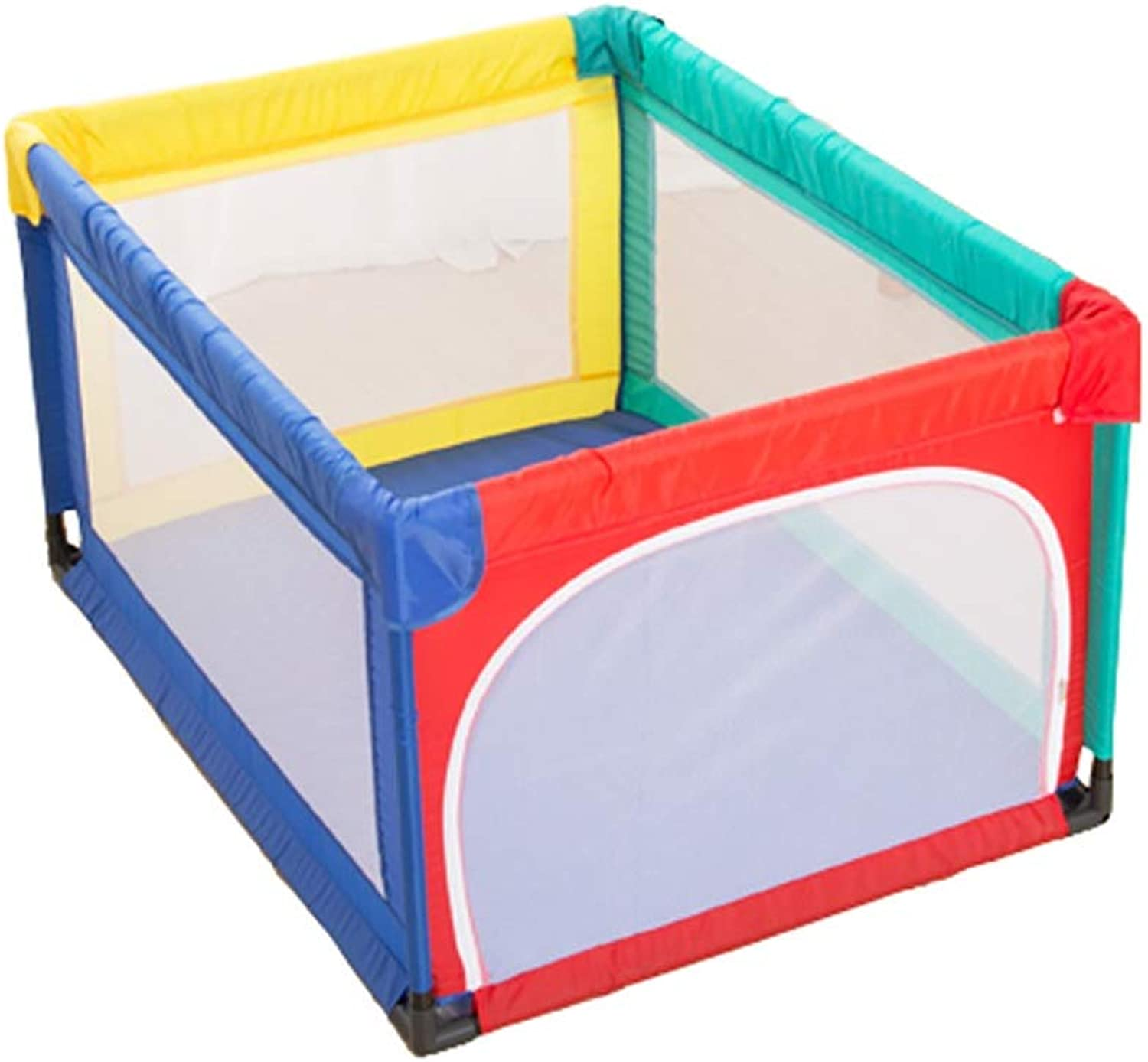 Safety Baby Playpen with Anti-Collision Cotton, Anti-Fall Play Game Fence for Acitivity Center & Nursery Center, 70 cm Height (Size   95×120cm)