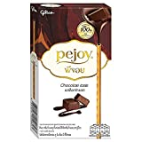 Pejoy Cookie Stick with Chocolate Taste Cream 47g./1.60 oz. By Glico (pack of 4)