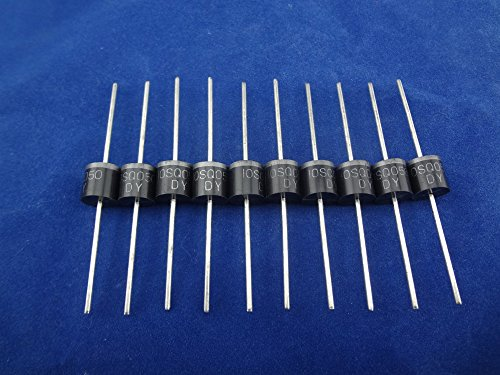 MISOL 100PCS-10A 50V Schottky Diode,SCHOTTKY BARRIER RECTIFIER,for solar panel DIY