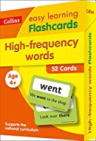 High Frequency Words Flashcards: Prepare for School with Easy Home Learning (Collins Easy Learning KS1)
