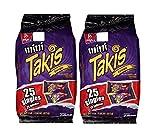 Mini Takis Fuego (2 Pack) Barcel Mexican Version Mega Deal Popular Classic Snacks Spicy Lemon Corn Chip Sticks Double Bag Bulk Deal Fancy Appetizers grab varieties & red hot flavor picante limon Bimbo