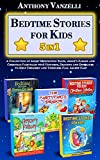 Bedtime Stories for Kids - 5 in 1: A Collection of Short Meditation Tales, Aesop's Fables and Christmas Fairytales with Unicorns, Dragons and Dinosaurs ... Toddlers Fall Asleep Fast (English Edition)