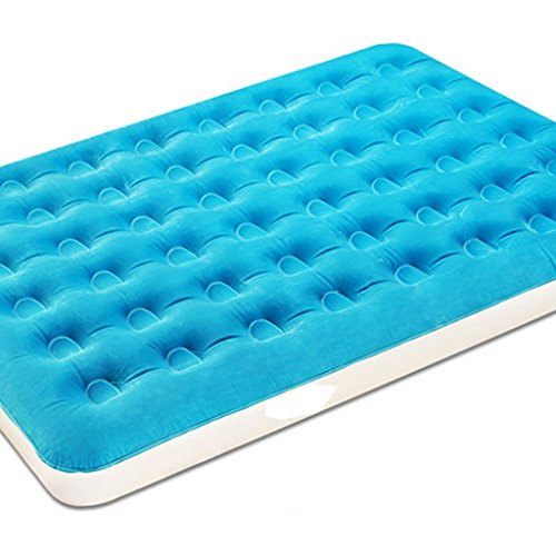 Great Features Of LSX-Air Mattress Flocked Air Bed Inflatable Bed 2 People Household 1 People Air Ma...