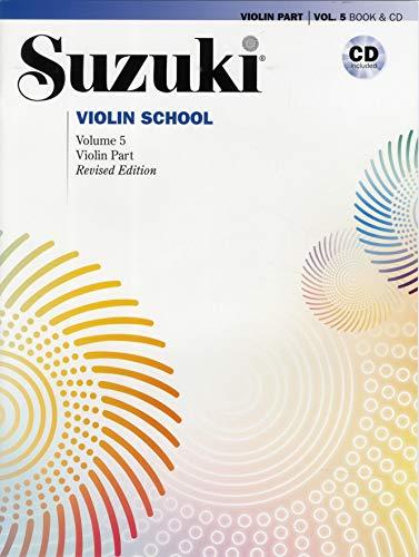 Suzuki Violin School Violin Part & CD, Volume 5 (Revised): Violin Part, Book & CD