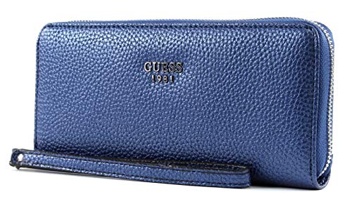 Guess Cate SLG Large Zip Around Navy