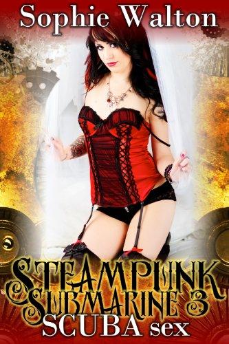 Steampunk Submarine 3 SCUBA Sex (ff sex and rubber fetish