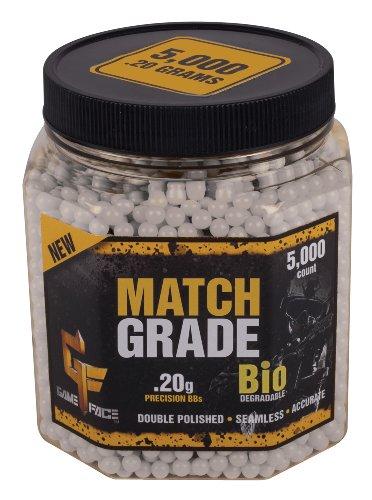 Crosman Match Grade 6mm Bio BB .20 Gr (Per 5000)