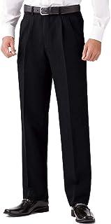 選べる裾上げ済みツータックビジネススラックス 通年物 ブラック