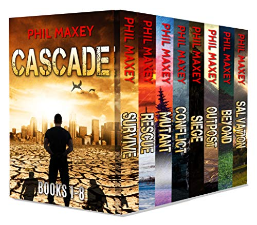 Cascade Box Set: The Complete Series - Books 1-8 by [Phil Maxey]