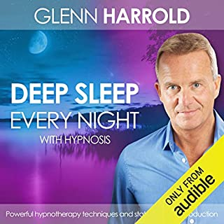 Deep Sleep Every Night                   By:                                                                                                                                 Glenn Harrold                               Narrated by:                                                                                                                                 Glenn Harrold                      Length: 1 hr and 4 mins     10 ratings     Overall 4.5