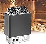 UIGJIOG Stufa per Sauna Controllo Interno Formatore Elettrico a Forma di Sauna Integrata Bagnato & Dry Sauna Stufa in Acciaio Inox Sauna Riscaldatore per la Sauna, per la casa, Hotel, Spa 3-9KW,15kg