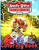 Angry Birds Transformers Coloring Book: Angry Birds Transformers Nice Coloring Books For Adult