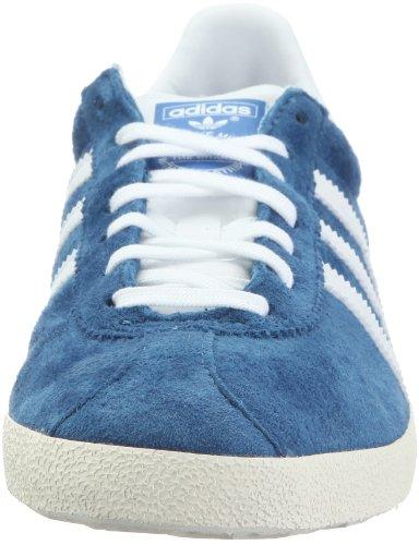 Adidas Originals Gazelle Og - Zapatillas para hombre y mujer, Azul Marino, 47 1/3