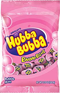 Hubba Bubba Bubble Gum, Bubba Blast Bag, 30 Count (Pack of 12)