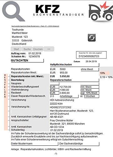 KFZ Gutachter KFZ Schadensgutachter Software Mac Windows Gutachten für KFZ-Sachverständige Schäden Fahrzeugschäden Kraftfahrzeugschäden Fahrzeuggutachten Unfallschäden Gutachten Erstellung - Gutachtersoftware / Sachverständigensoftware Fahrzeug Schadengutachten Schadendokumentation Autounfall Unfallfahrzeuge Blechschäden Totalschaden
