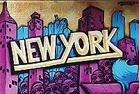 HD落書きの背景7x5ftニューヨークアーバンアートストリート写真の背景手描きの落書きの壁誕生日の装飾子供大人芸術的ポートレート写真撮影小道具デジタル壁紙