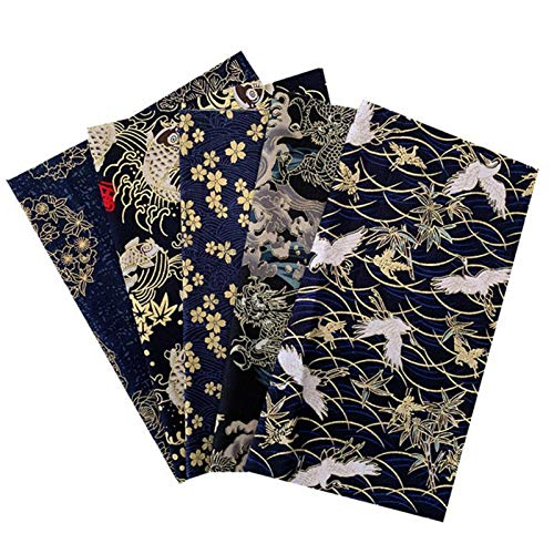 Jiangying Tela De Algodón Puro Tela De Puntos Florales Paquete Cuadrado Tela De Retales De Costura para Manualidades De Bricolaje Scrapbooking Costura A Mano Patchwork 50 X 50 Cm Cosy
