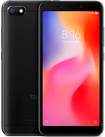 Xiaomi Redmi 6A Dual SIM 16GB Negro Version Global Desbloqueado
