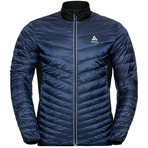 Odlo Jacket insulated COCOON N-THERMIC LIGHT Veste / Blouson Homme diving navy - black FR : L (Taille Fabricant : L)