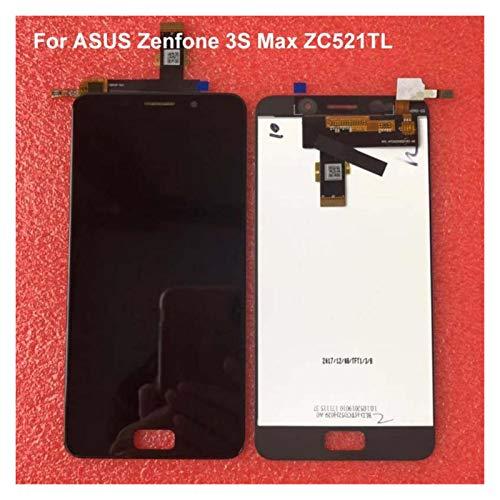 Un known Teléfono móvil reemplazable 5.2'para ASUS ZENFONE 3S MAX ZC521TL LCD Pantalla táctil Reemplazo del digitalizador para ASUS ZC521TL LCD X00GD Pegasus Pantalla Partes de máquina (Color : Gold)