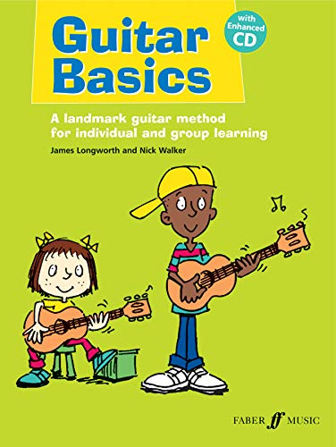 Guitar Basics: A Landmark Guitar Method for Individual and Group Learning, Book & CD