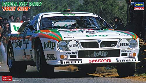 Hasegawa-1/24 Lancia 037 Rally Jolly Club Juego de construcción de maquetas, Color Diferentes (620399)