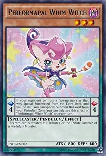 Yu-Gi-Oh! - Performapal Whim Witch (INOV-EN002) - Invasion: Vengeance - Unlimited Edition - Rare