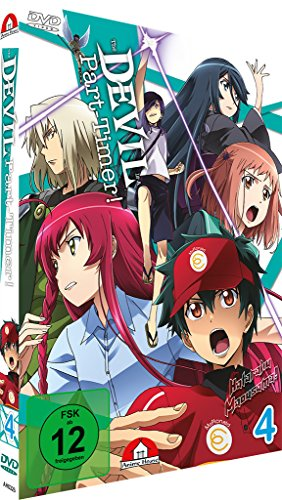 The Devil is a Part-Timer - Vol.4 - [DVD]