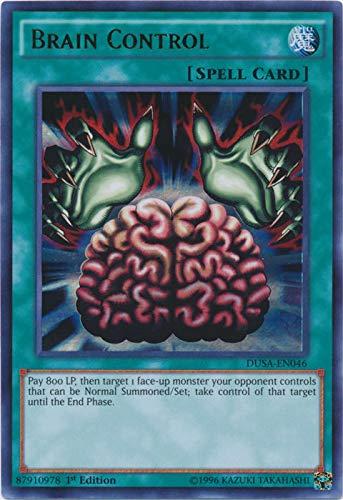 Brain Control - DUSA-EN046 - Ultra Rare - 1st Edition - Duelist Saga (1st Edition)