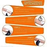 Premium von Sunzze. Wachs, Filmwachs zur Enthaarung im Intim, Achsel und Beinbereich. Anwendung ohne Vliesstreifen (Wachsperlen Black Orchid) - 2