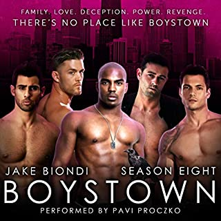Boystown Season Eight audiobook cover art