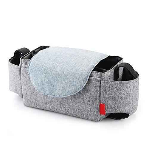 Felenny Bolso impermeable multifuncional del almacenamiento del poliéster del bolso del coche del cochecito de bebé