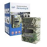 PNI 8MP 720P Jagd Scouting Trail Digitalkamera Wildlife Kamera Hunting 2C, Micro SD-Kartensteckplatz, Foto-und Film-Modi, Nachtsicht 26IR LED, IP54 Waterproof Class -