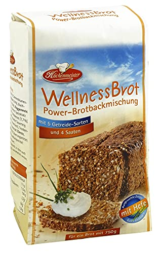 BIELMEIER KÜCHENMEISTER Brotbackmischung Wellnessbrot