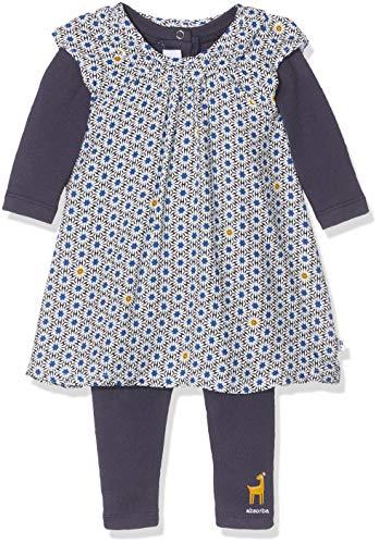 Absorba Baby-Mädchen 7p36201-ra Ens Robe Kleid, Blau (Marine Blue 04), 18-24 Monate (Herstellergröße: 6M)