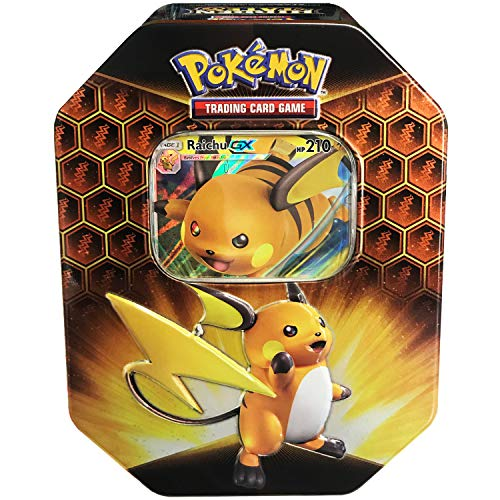 Pokemon TCG: Sun & Moon Hidden Fates - Raichu-GX Collector's Tin