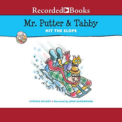 Mr. Putter & Tabby Hit the Slope audiobook cover art