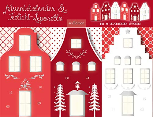 Adventskalender & Teelichtleporello: