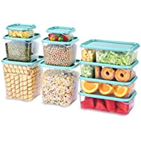 20-Pieces Tuseasy Food Storage Containers Set With Airtight Lids