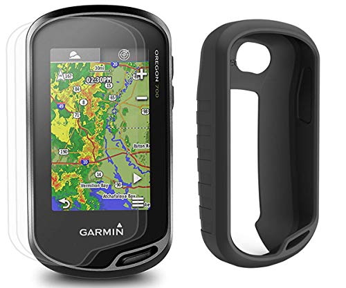Buy Discount Garmin Oregon 700 Hiking Armor GPS Bundle | with PlayBetter Silicone Case (Black) & Scr...