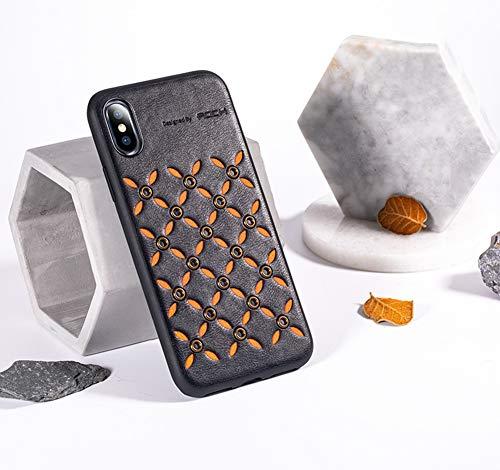 JINRU IPhone XCase, étui de Protection Robuste avec Soft TPU Bumper [Slim Mince], Compatible avec iPhone X/XS, XR, XS Max,Black,XR