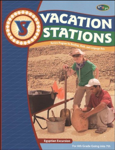 Vacation Station: Egyptian Excursion (for 6th Grade Going Into 7th)