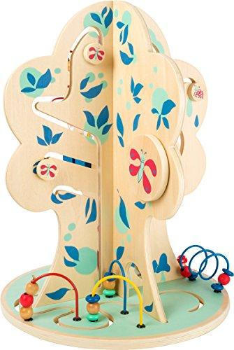 Small Foot Design-10457 Arbre Move it en Bois, en Moteur éducatifs pour Les Tout-Petits, à partir de 12 Mois Jouet, 10457