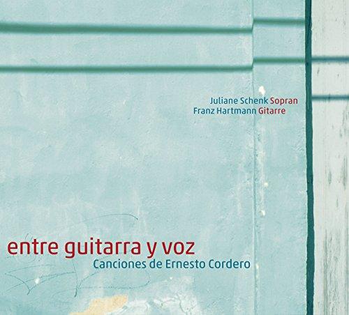 entre guitarra y voz, Canciones de Ernesto Cordero