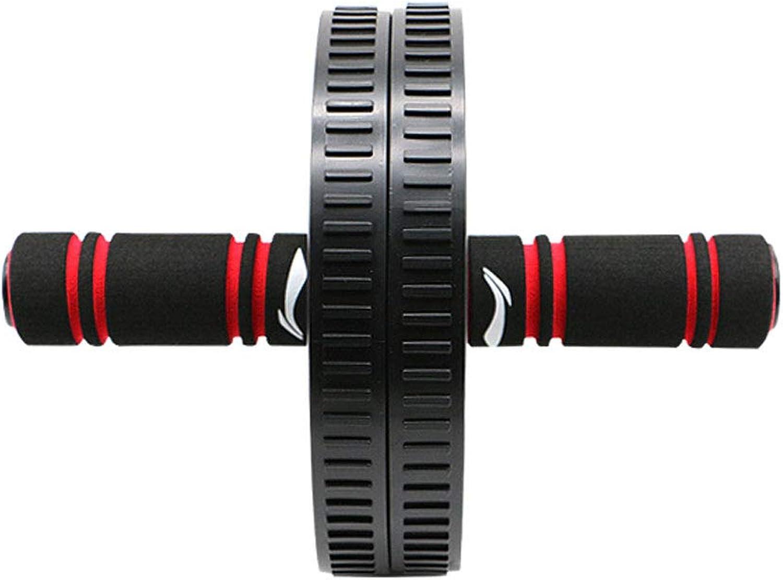JIAJIAKONG Roller Doppelbauch übung Knie Bauch Bauch übung Fitness Sportgerte Home Outdoor schwarz Unisex