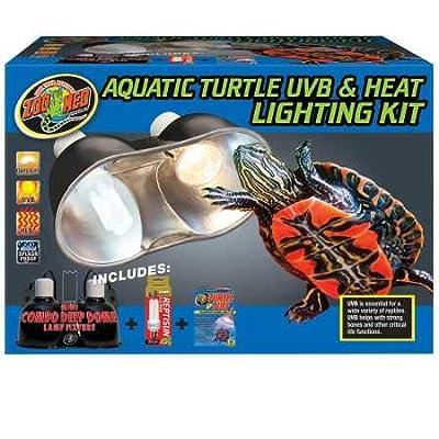 Zoo Med Aquatic Turtle UVB Heat Lighting Kit