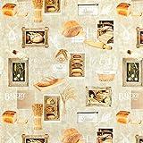 Fabulous Fabrics Halbpanama Oliv, Café & Küche, 140cm