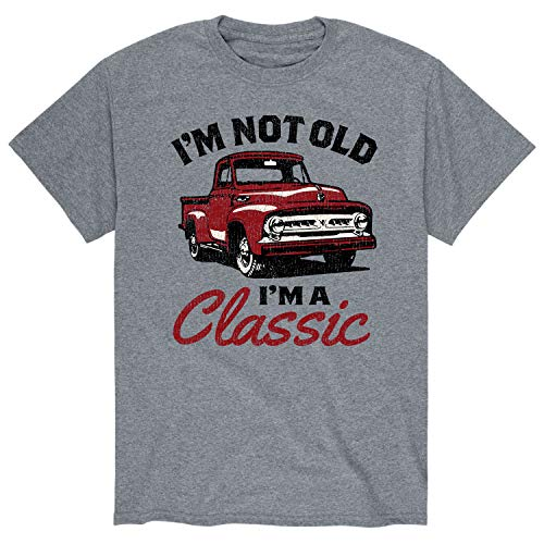 Im Not Old Classic - Men's Short Sleeve Graphic T-Shirt Athletic Heather