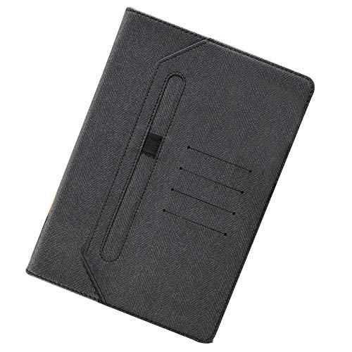 Funda para iPad 10.2 2020/2019 – Folio Stand Multi Ángulo de Visión Funda Funda Funda con Auto Sleep/Wake, Negro